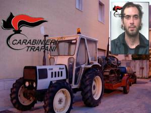 arresto partanna mezzi agricoli