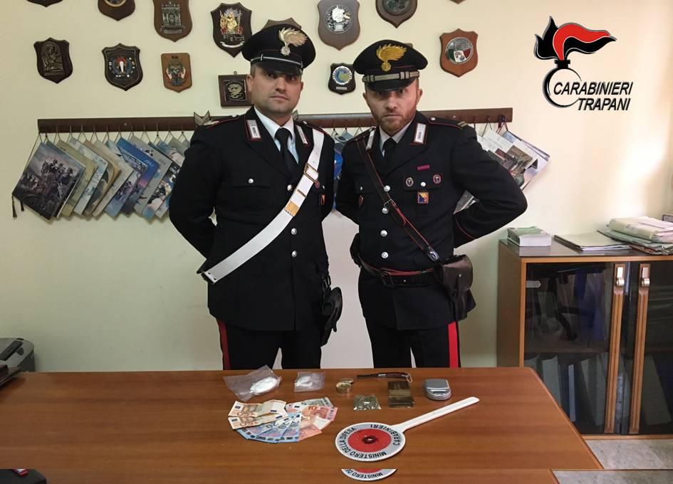 arresto-alcamo-carabinieri-droga-castellammare-del-golfo