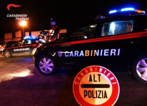 carabinieri Alcamo alt polizia