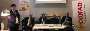 nella foto da sinistra in piedi Gaspare Borsellino, Francesco Messina, Raimondo Cerami, Salavtore Roccolino e Giovanni Anania