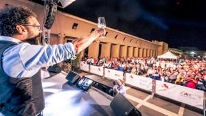brindisi ventennale cantine Ermes - Tenute Orestiadi con Federico Quaranta