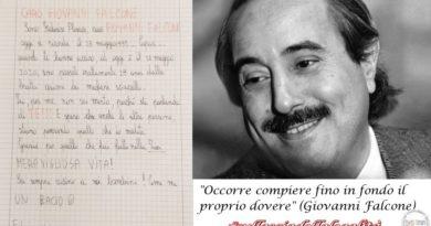18 maggio. In ricordo di Giovanni Falcone l'hashtag #sullasciadellalegalità