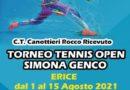 Parte domenica al Circolo Tennis di Erice il Memorial Simona Genco, torneo open federale